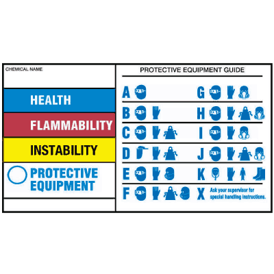 HMIG Chemical Hazard Labels