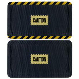 Hog Heaven Safety Message Anti-Fatigue Mats - Caution