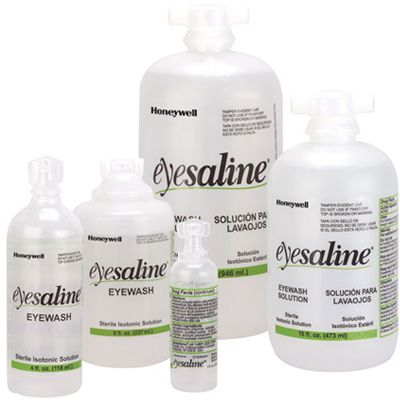 Honeywell Eyesaline® Eyewash 1oz to 32 oz Bottles