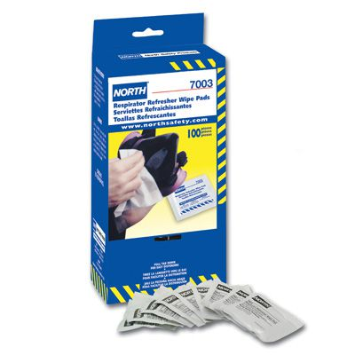 North® Respirator Wipe Pads 7003S