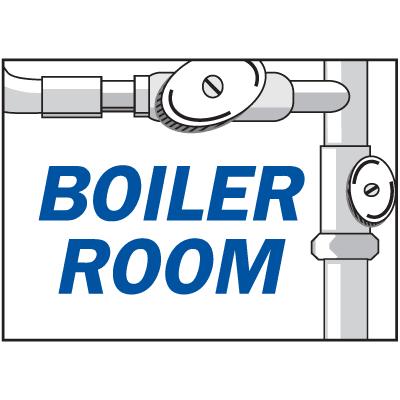 Housekeeping Signs - Boiler Room