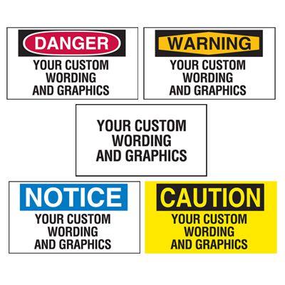 Illuminated Warehouse Safety Signs