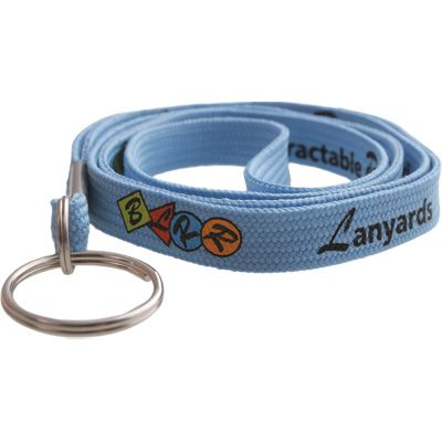 Custom Imprinted Woven Breakaway Lanyards
