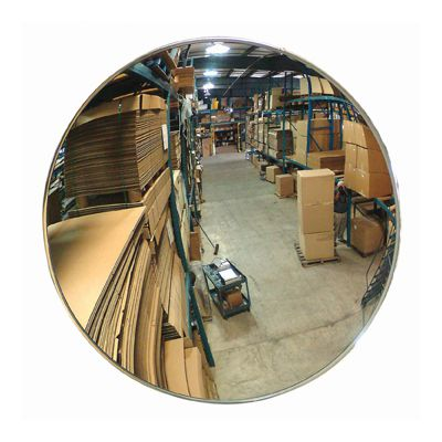 Indoor Acrylic Convex Mirror, Z Bracket