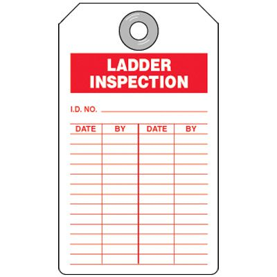 Inspection Tag