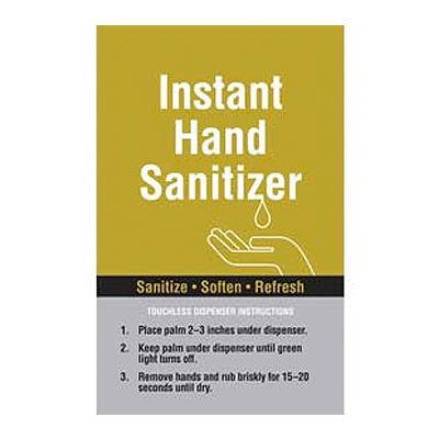 Instant Hand Sanitizer Graphic SPST-711