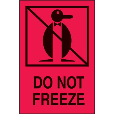 International Shipping Labels- Do Not Freeze