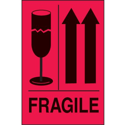 International Shipping Labels- Fragile