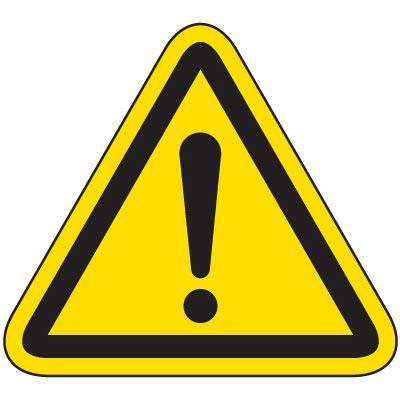 International Symbol Labels - General Warning