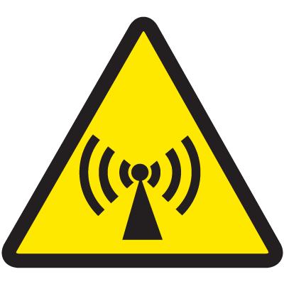 International Symbols Labels - Non-Ionizing Electro-Magnetic Radiation