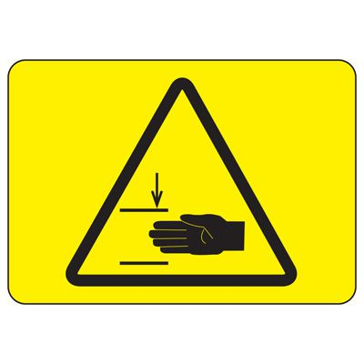 International Symbols Signs - Mind Your Hands