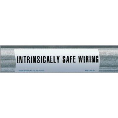 Intrinsically Safe Wiring Conduit Marker
