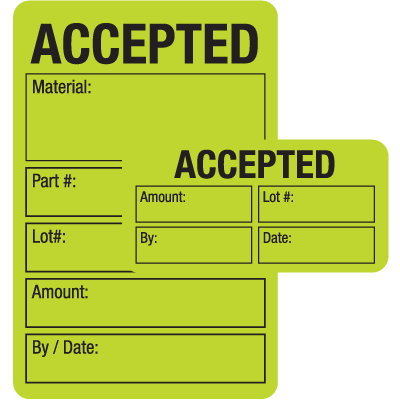 Accepted ISO 9000 Labels