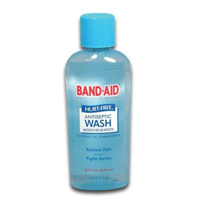 J & J BAND-AID Hurt Free Antiseptic Wash 100445900