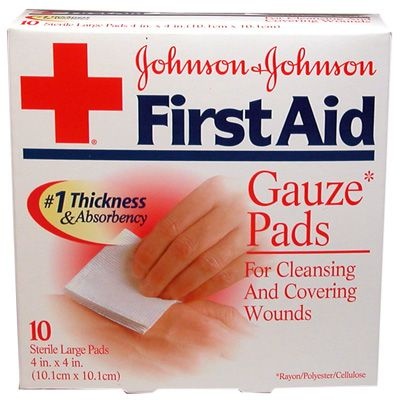 Johnson & Johnson® First-Aid Gauze Pads