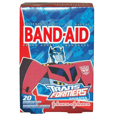 Johnson & Johnson Boys Band Aids
