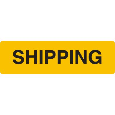 Shipping Jumbo Loading Dock Signs