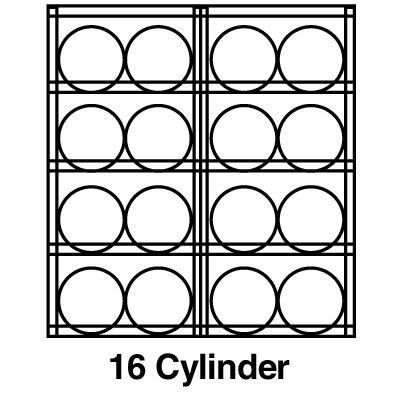 Justrite® Aluminum Cylinder Storage 23005