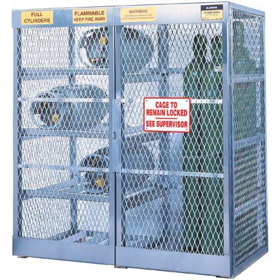 Justrite® Aluminum Cylinder Storage 23008