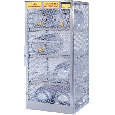Justrite® Aluminum Cylinder Storage 23003