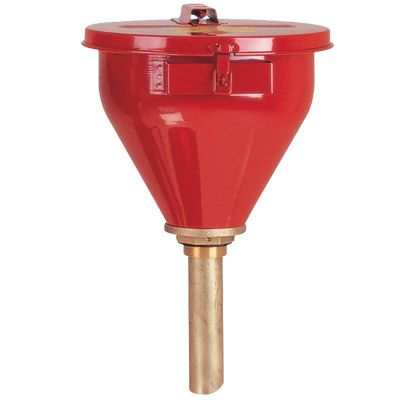 JUSTRITE Safety Funnel w/ 1 Arrestor 8202