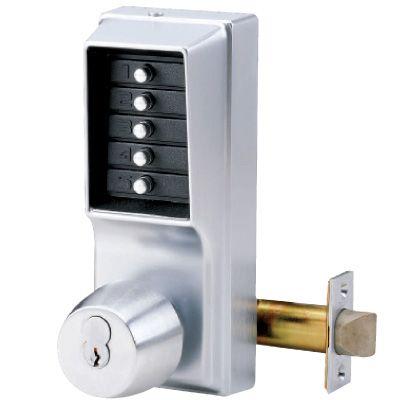 KABA Mechanical Door Locks - 1000 Series Knob Lock (LC Core w/ 2 Keys)