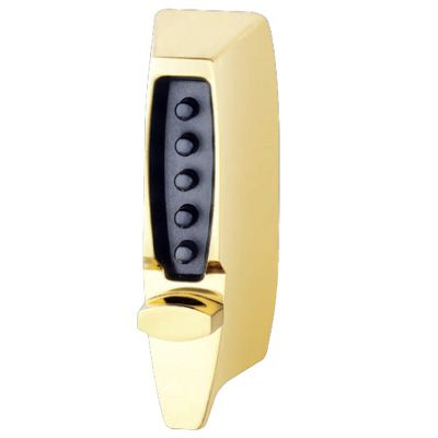 KABA Mechanical Door Locks - 7000 Series Brass Latch Lock (w/ Adjustable Backset)