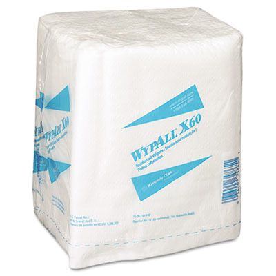 Kimberly-Clark® Professional WYPALL* X60 Quarterfold Teri® Reinforced Disposable Wipes KCC34865