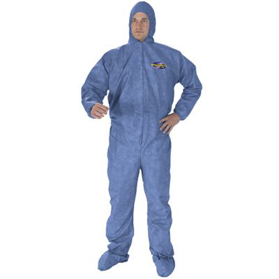Kimberly-Clark KLEENGUARD® A60 Bloodborne Pathogen and Chemical Splash Protection Coveralls 45094