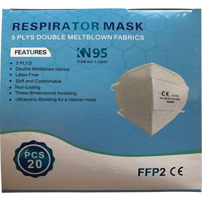 KN95 / FFP2 Face Mask - Box of 20