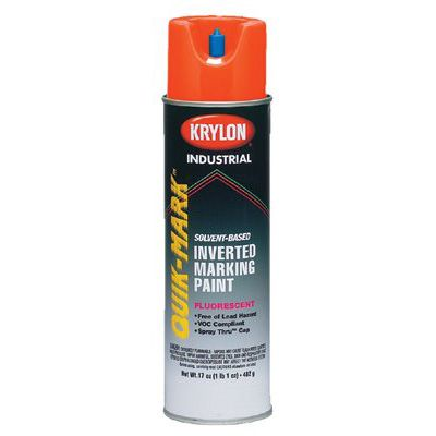 Krylon® - Quik-Mark™ Solvent-Based Fluorescent Inverted Marking Paints AT3701