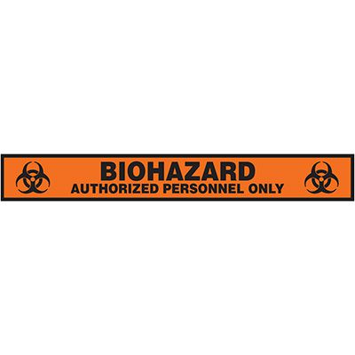 Label- Biohazard Authorized Personnel Only