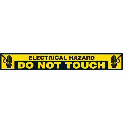 Label- Electrical Hazard Do Not Touch