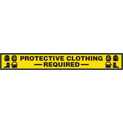 Label- Protective Clothing Required