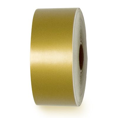 LabelTac® LT0513 Premium Vinyl Printer Label - Gold