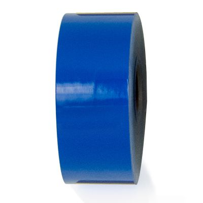 LabelTac® LT107 Premium Vinyl Printer Label - Blue