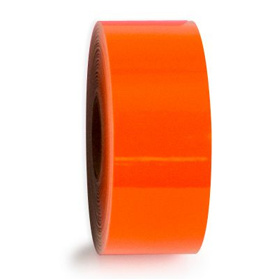 LabelTac® LT206 Premium Vinyl Printer Label - Orange