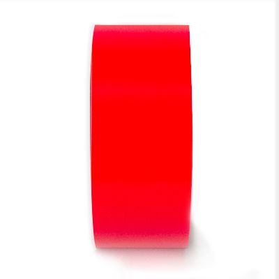 LabelTac® LT604-C Premium Vinyl Printer Label - Red