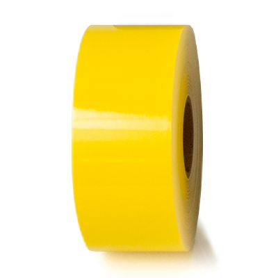 LabelTac® LT801-C Premium Vinyl Printer Label - Yellow