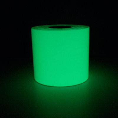LabelsTac® Glow In The Dark Labels - Luminous Green