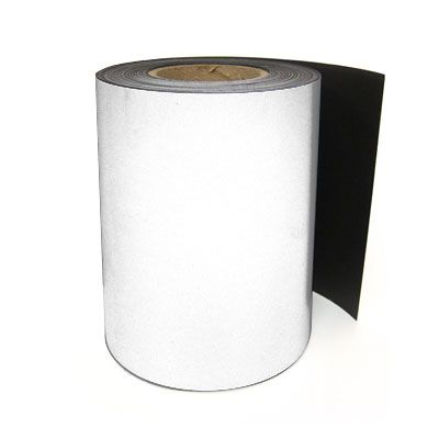 LabelTac® LT102M Magnetic Printer Labels - White