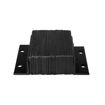 Laminated Rubber Horizontal Bumpers - 4 Projection