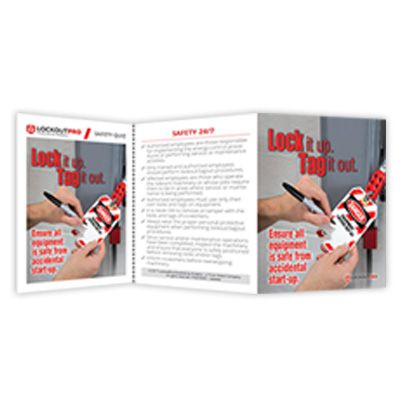 Lock It Up Tag It Out - Lockout Tagout Training Kit