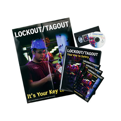 Lockout/Tagout Training Kit with Video