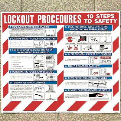 Lockout Wall Chart