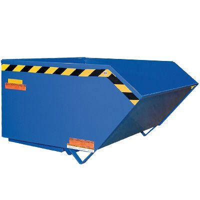 Low-Profile Self-Dumping Steel Hopper