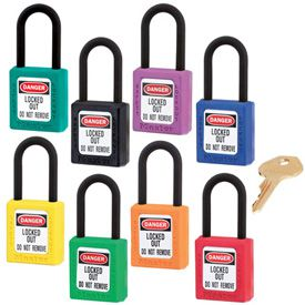 Master Lock® Dielectric Thermoplastic Safety Padlocks - Keyed Differently
