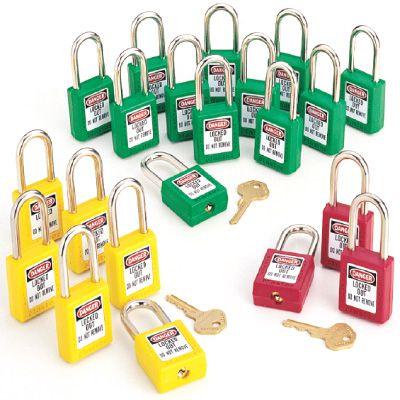 Master Lock® Zenex Safety Keyed Alike Padlock Sets