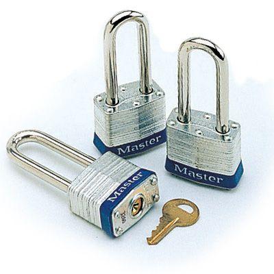 Keyed Alike Steel Master Lock Padlock Set