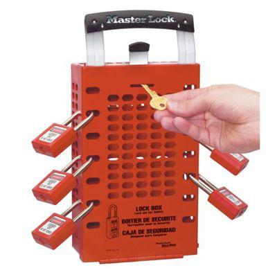 Master Lock® Latch Tight™ Group Lock Box